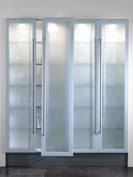 armario columna vitrina